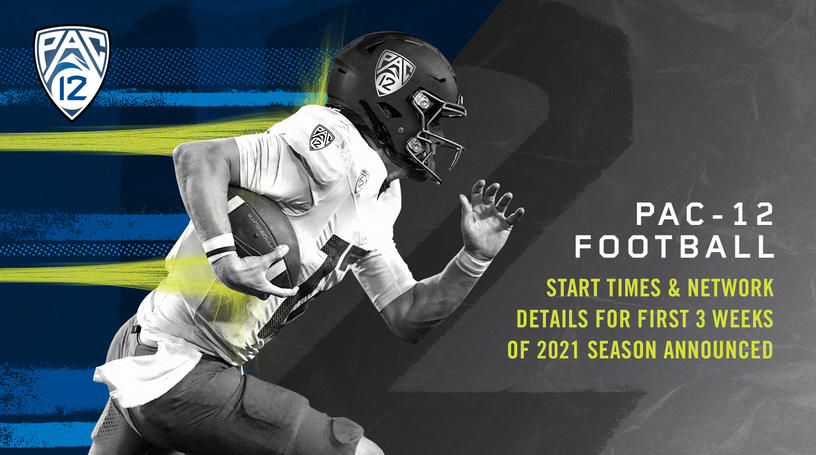 2021 Pac-12 Football early television schedule announced